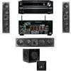 KL-6504-THX In-wall 3.1-SW-310-Onkyo TX-NR838 7.2Ch Network A/V