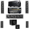 3-KL-6504-THX In-wall 5.1-SW-310-Denon IN-Command AVR-4520CI