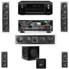 3-KL-6504-THX In-wall 5.1-SW-310-Denon AVR-X4000 IN-Command 7.2Ch
