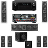 3-KL-6504-THX In-wall 7.1-SW-310 Denon AVR-X4000 IN-Command 7.2Ch