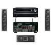 KL-6504-THX In-wall LCR Speaker(3.0) Onkyo TX-NR838 7.2Ch