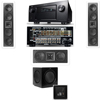 KL-6504-THX In-wall LCR Speaker-3.1-SW310 Denon IN-Command AVR-4520CI