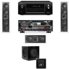 KL-6504-THX In-wall LCR Speaker(3.1) SW-310-Denon AVR-X4000 IN-Command 7.2