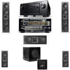 2-KL-6504-THX In-wall 5.1-SW-310-Denon IN-Command AVR-4520CI