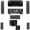 2-KL-6504-THX In-wall 5.1-SW-310-Denon AVR-X4000 IN-Command 7.2Ch