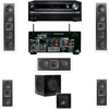 2-KL-6504-THX In-wall 5.1-SW-310-Onkyo TX-NR838 7.2Ch Network A/V