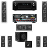 2-KL-6504-THX In-wall 7.1-SW-310 Denon AVR-X4000 IN-Command 7.2Ch