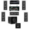 KL-6502-THX In-wall LCR_5.1-SW-310-Onkyo TX-NR838 7.2Ch
