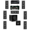 KL-6502-THX In-wall LCR_7.1-SW-310-Onkyo TX-NR838 7.2Ch