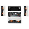 R-5502-W II In-Wall Speaker 3.0 Denon AVR-X4000 IN-Command 7.2