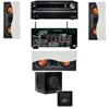 R-5502-W II In-Wall Speaker 3.1 SW-310 Onkyo TX-NR838 7.2