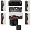 R-5502-W II(5) In-Wall Speaker 5.1-SW-310 Denon AVR-X4000