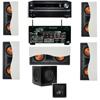 R-5502-W II(5) In-Wall Speaker 5.1 SW-310 Onkyo TX-NR838 7.2