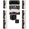 R-5502-W II (7)In-Wall Speaker 7.1-SW-310 Denon AVR-X4000