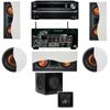 R-5502-W II In-Wall Speaker 5.1 SW-310 Onkyo TX-NR838 7.2
