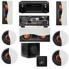 R-5502-W II In-Wall Speaker 7.1-SW-310 Denon AVR-X4000