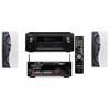 R-2502-W II In-Wall Speaker (LCR) Denon AVR-X2100W 7.2