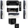 R-2502-W II In-Wall Speaker (LCR) 5.1 Denon AVR-X2100W 7.2
