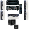 R-2502-W II In-Wall Speaker (LCR) 5.1 Onkyo TX-NR636 7.2-Ch Network A/V
