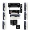 R-2502-W II In-Wall Speaker (LCR) 7.1 Denon AVR-X2100W 7.2
