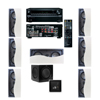 R-2502-W II In-Wall Speaker (LCR) 7.1 Onkyo TX-NR636 7.2-Ch Network A/V