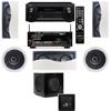 R-2502-W II In-Wall Speaker (LCR) (5.1) Denon AVR-X2100W 7.2