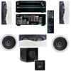 R-2502-W II In-Wall Speaker(LCR) (5.1) Onkyo TX-NR636 7.2-Ch Network A/V