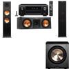 Klipsch RP-280F Tower Speakers-RP-250C-PL-200-3.1-Denon AVR-X4100W