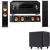 Klipsch RP-280F Tower Speakers-RP-450C-SDS12-3.1-Pioneer Elite SC-85