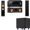 Klipsch RP-280F Tower Speakers-RP-250C-SDS12 -3.1-Pioneer Elite SC-85