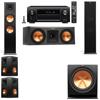 Klipsch RP-280F Tower Speakers-RP-250C-5.1-Denon AVR-X4100W