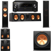 Klipsch RP-280F Tower Speakers-RP-450C-5.1-Pioneer Elite SC-85