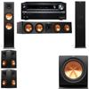 Klipsch RP-280F Tower Speakers-R112SW-5.1-Onkyo TX-NR838