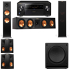 Klipsch RP-280F Tower Speakers-RP-450C-SW-112-5.1-Pioneer Elite SC-85