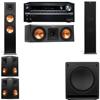 Klipsch RP-280F Tower Speakers-RP-250C-SW-112-5.1-Onkyo TX-NR838