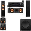 Klipsch RP-280F Tower Speakers-RP-250C-SW-112-5.1-Denon AVR-X4100W