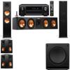 Klipsch RP-280F Tower Speakers-SW-112-5.1-Denon AVR-X4100W
