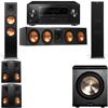 Klipsch RP-280F Tower Speakers-RP-450C-PL-200-5.1-Pioneer Elite SC-85