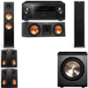 Klipsch RP-280F Tower Speakers-RP-250C-PL-200-5.1-Pioneer Elite SC-85