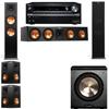 Klipsch RP-280F Tower Speakers-PL-200-5.1-Onkyo TX-NR838