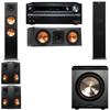 Klipsch RP-280F Tower Speakers-RP-250C-PL-200-5.1-Onkyo TX-NR838