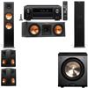 Klipsch RP-280F Tower Speakers-RP-250C-PL-200-5.1-Denon AVR-X4100W