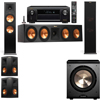Klipsch RP-280F Tower Speakers-PL-200-5.1-Denon AVR-X4100W