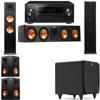 Klipsch RP-280F Tower Speakers-RP-450C-SDS12-5.1-Pioneer Elite SC-85