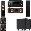 Klipsch RP-280F Tower Speakers-RP-250C-SDS12 -5.1-Pioneer Elite SC-85
