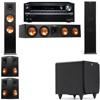 Klipsch RP-280F Tower Speakers-SDS12-5.1-Onkyo TX-NR838