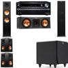 Klipsch RP-280F Tower Speakers-RP-250C-SDS12 -5.1-Onkyo TX-NR838