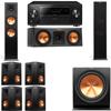 Klipsch RP-280F Tower Speakers-RP-250C-7.1-Pioneer Elite SC-85