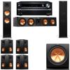 Klipsch RP-280F Tower Speakers-RP-450C-R112SW-7.1-Pioneer Elite SC-85