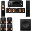 Klipsch RP-280F Tower Speakers-RP-450C-SW-112 - 7.1-Pioneer Elite SC-85